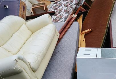 不用品や大型家電やソファーなど
